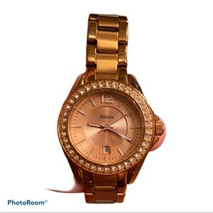FOSSIL | Riley Rose Gold Watch ES2889